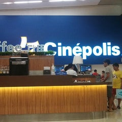 Photo taken at Cinépolis by Beto P. on 11/2/2013