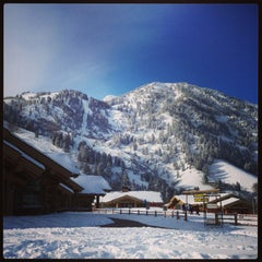 Photo taken at Snowbasin Resort by Aaron E. on 1/13/2013
