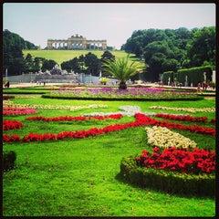 Photo taken at Schloss Schönbrunn by Leigh Ann S. on 6/23/2013