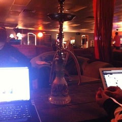 Photo taken at Blaze Hookah Lounge by Marissa C. on 12/12/2012