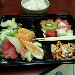 Photo taken at Happi Sushi by Michael D. on 6/17/2013