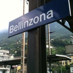 Photo taken at Bellinzona FFS by Indra Setiawan H. on 8/7/2011