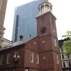 Photo taken at Old South Meeting House by Eric A. on 5/2/2012