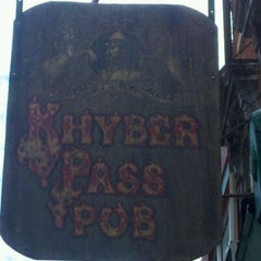 Photo taken at Khyber Pass Pub by Crystal G. on 6/6/2012
