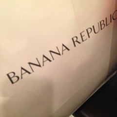Photo taken at Banana Republic by Andrew S. on 3/30/2013