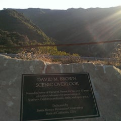 Photo taken at David M. Brown Scenic Overlook by Michael S. on 9/16/2014