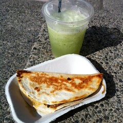 Photo taken at Tacofino Cantina by Lisa B. on 9/25/2012