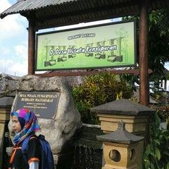 Photo taken at Desa Adat Tradisional Penglipuran (Balinese Traditional Village) by Tedi B. on 11/22/2015