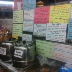 Photo taken at Sunny & Annie Gourmet Deli by Madame L. on 10/29/2012