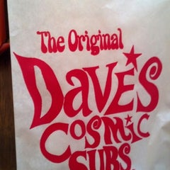 Photo taken at Dave's Cosmic Subs by Keith B. on 5/24/2013