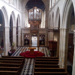 Photo taken at University Church of St. Mary the Virgin by Juan A. on 4/12/2013