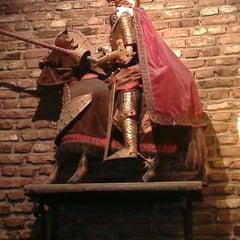 Photo taken at Koninklijk Theater Toone / Théâtre Royal de Toone by Alain S. on 12/13/2012