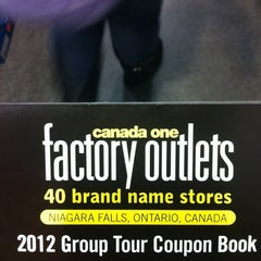 Photo taken at Canada One Brand Name Outlets by Pamella C. on 11/24/2012