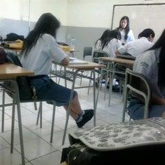 Photo taken at SMA Kristen Eben Haezar by Helini M. on 11/26/2012