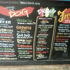Photo taken at Dat Dog by Melissa A. on 12/1/2012