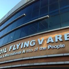 Photo taken at Fil-Oil Flying V Arena by Leslie Louis M. on 3/16/2013