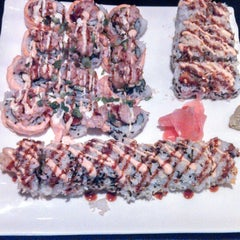 Photo taken at Spider Sushi by Brittany M. on 2/16/2014