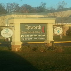 Photo taken at Epworth United Methodist Church by William C. on 11/13/2013