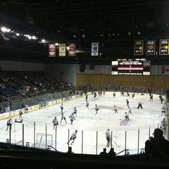 Photo taken at Rushmore Plaza Civic Center Ice Arena by Amanda F. on 1/19/2013