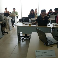 Photo taken at Tecnológico de Monterrey Sede Cancún by Ulises R. on 3/2/2013