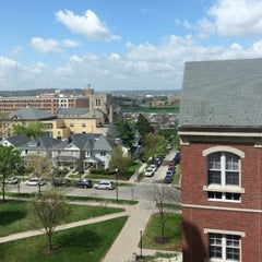 Photo taken at Roesch Library by Jeremy M. on 4/29/2014