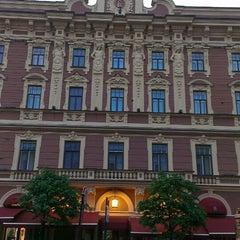 Photo taken at Belmond Grand Hotel Europe / Гранд Отель Европа by Alya V. on 5/26/2013