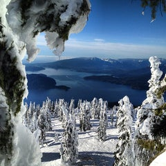 Photo taken at Cypress Mountain by Rob B. on 1/8/2013