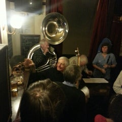 Photo taken at The Wenlock Arms by Solveig O. on 2/22/2013