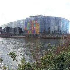 Photo taken at Parlement Européen by Gabriel S. on 3/9/2013