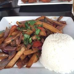 Photo taken at Mamita Peruvian Restaurant by Karol on 2/1/2015