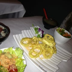 Photo taken at Wasabi Japanese Steakhouse by Louie P. on 12/23/2012