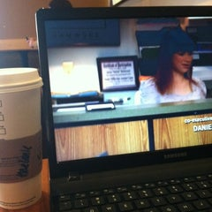 Photo taken at Starbucks by Melanie N. on 2/6/2013