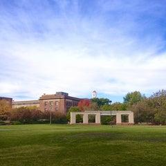 Photo taken at University of Nebraska-Lincoln by Adrian Z. on 11/29/2012