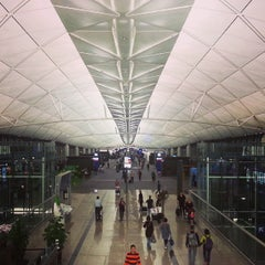 Photo taken at Hong Kong International Airport 香港國際機場 (HKG) by Belinda Y. on 11/4/2013