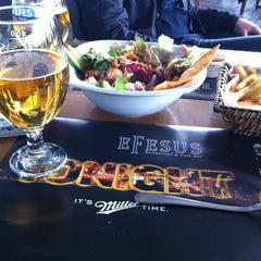 Photo taken at Efesus Restaurant & Bar by Emre Ç. on 3/17/2013