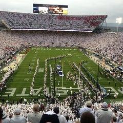 Photo taken at Beaver Stadium by Jim B. on 10/27/2012