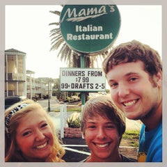 Photo taken at Mama's Italian Restaurant by Kevin S. on 7/26/2013