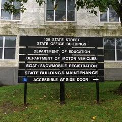 Photo taken at Vermont DMV by Michael on 9/10/2013