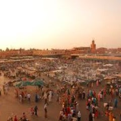Photo taken at Marrakech | مراكش by Vittorio R. on 1/6/2013