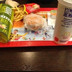 Photo taken at McDonald's by Julia K. on 3/10/2013
