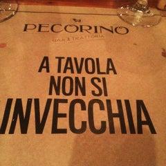 Photo taken at Pecorino Bar & Trattoria by Henrique A. on 8/6/2015