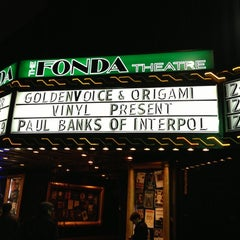 Photo taken at The Fonda Theatre by Alicia F. on 12/11/2012