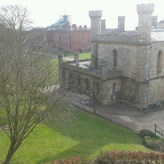 Photo taken at Lincoln Castle by Noah S. on 2/16/2013