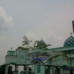 Photo taken at Masjid Agung Al-Hijrah by Kresna B. on 10/5/2014