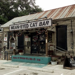 Photo taken at Mean Eyed Cat by Paul D. on 4/23/2013