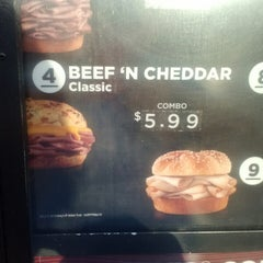 Photo taken at Arby's by Kaela G. on 7/13/2013