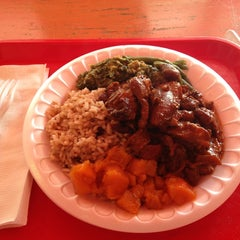Photo taken at Sisters Carribean Cuisine by Caren A. on 4/7/2013