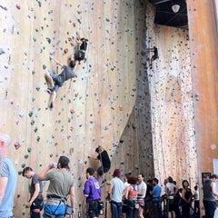 Photo taken at Hardrock Indoor Rock Climbing by Leah H. on 2/26/2014