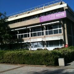Photo taken at Tel Aviv University   אוניברסיטת תל-אביב by Tzvia F. on 1/15/2013