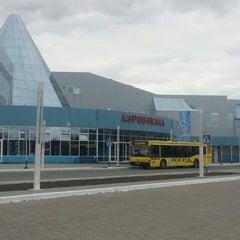 Photo taken at Международный аэропорт Ханты-Мансийск / Khanty-Mansiysk International Airport (HMA) by Александра К. on 5/14/2013